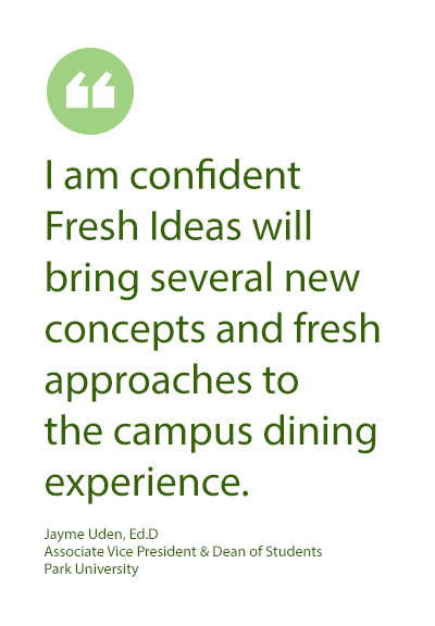 Jayme Uden, Ed.D on Fresh Ideas